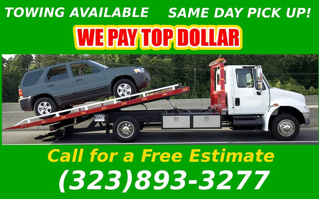 Cash for Junk Cars Los Angeles CA - FAST CASH FOR JUNK CARS IN LOS ...